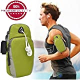 Easypro™ Waterproof Sport Armband Unisex Running Jogging Gym Arm Band Case Cover For Mobile IPhone 6s 6 Plus Phones Till 5.7 Inches Sports Arm Band For Android/iOS(Color May Vary) For Samsung Galaxy Note 8