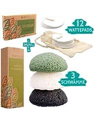 ecopura® Zero Waste Hautpflege Set – 100% Nachhaltig, Umweltfreundlich, Plastikfrei, Vegan, Ökologisch, Natürlich, Wiederverwendbar