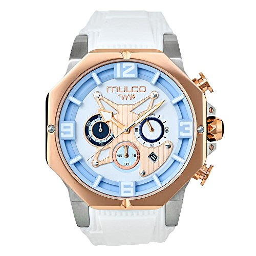 Mulco M10 105 Ladies Watch- 100% Silicone Band- Water Resistant- Women's fashion MW5-5190-013