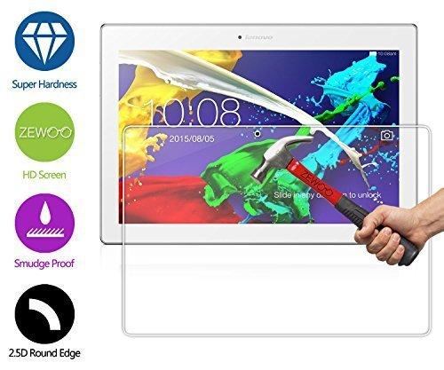ZeWoo Display Glas Panzerfolie für Lenovo TAB 2 A10-70 (10.1 Zoll) Glasfolie Hartglas Schutzfolie 9H *2.5D, nur 0,33mm dünn