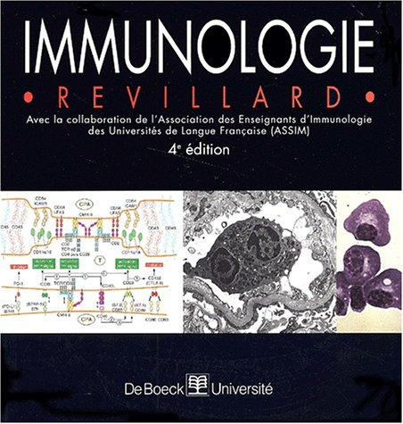 Immunologie par Jean-Pierre Revillard