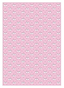 Ursus 10 Hojas de cartulina fotográfica 60950018, 300 g/m², Aprox. 23 x 33 cm, para decoración, Paquete de Regalo y diseño de Tarjetas, Color Rosa