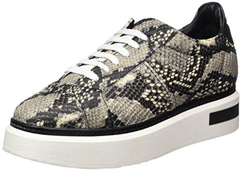 Oxitaly Damen Betty 100 Sneaker, Schwarz (Nero), 37 EU