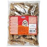 Pack de 50 os à mâcher de 8 cm pour chien/Zolux