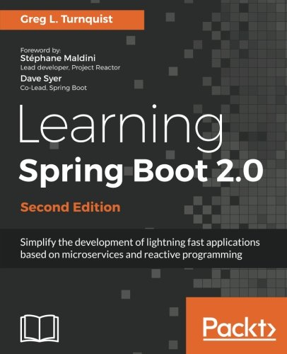 Learning Spring Boot 2.0 por Greg L. Turnquist