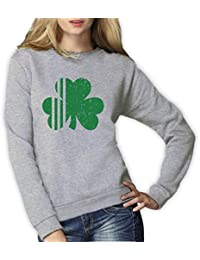 Green Turtle T-Shirts Saint Patrick's Day Irish Shamrock - Ireland's Clover Women Sweatshirt