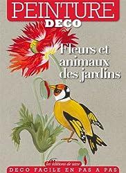 Fleurs et animaux des jardins