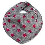 Dreieckstuch Balka Farbe: grau-pink