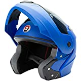 GTB FLIP UP HELMET -BLUE COLOR