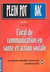 Plein Pot Bac : L'oral de communication en santé et