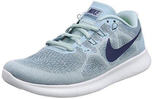Nike Damen Free RN 2017 Laufschuhe Blau (Ocean Bliss/Navy/Glacier Blue/ 405) 38.5 EU