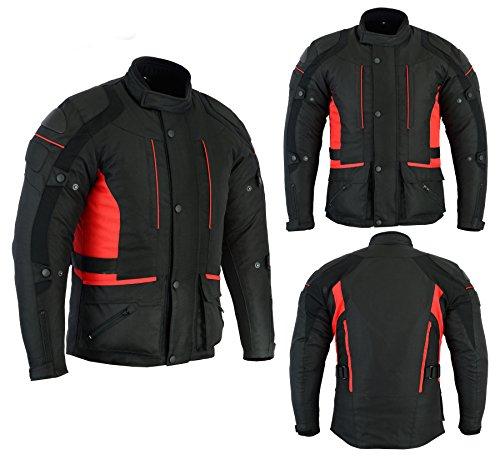 Sterling Sports® Chaqueta de moto para hombre