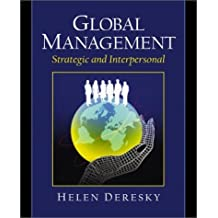 Global Management: Strategic and Interpersonal by Helen Deresky (2002-01-26)