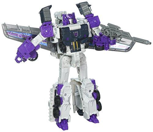 Transformers Juguete de la Saga Serie Generations Titans Return Figura Que Puede transformarse en Tres Diferentes Objetos llamados: Decepticon; el avión, Octone; el automóvil y Murk; el Robot