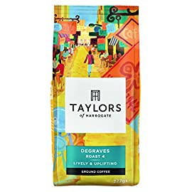 Taylors of Harrogate Degraves Ground Coffee, 227g (Pack of 6)