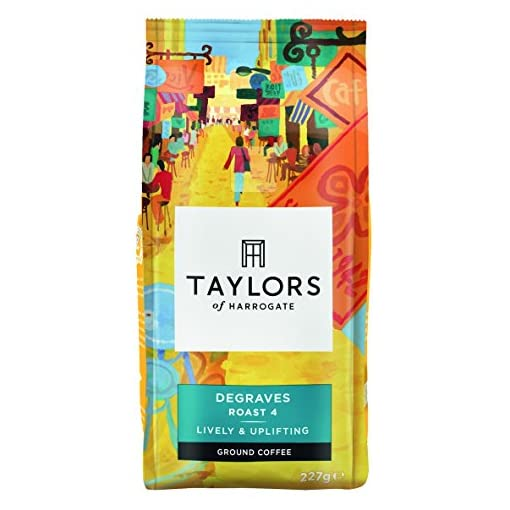 Taylors of Harrogate Degraves Ground Coffee, 227g (Pack of 6) 51T5FYtj2BL
