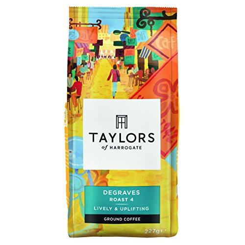 Taylors of Harrogate Degraves Ground Coffee 227g (Pack of 6) 51T5FYtj2BL