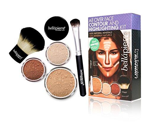 bellapierre COSMETICS Contouring and Highlighting Kit Medium
