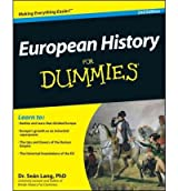 [ EUROPEAN HISTORY FOR DUMMIES BY LANG, SEAN](AUTHOR)PAPERBACK