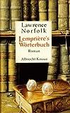 Buchinformationen und Rezensionen zu Lempriere's Wörterbuch von Lawrence Norfolk