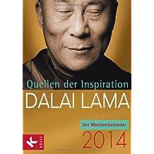 Quellen der Inspiration: Der Wochenkalender 2014