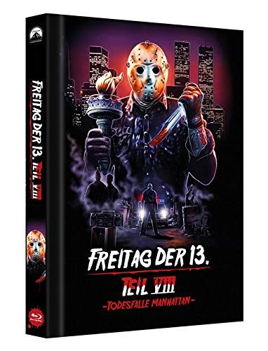 Freitag der 13. Teil 8 - Collectors Edition Mediabook (Cover D) [Blu-ray]