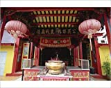 Photographic Print of Interior of Chinese temple in Sibu