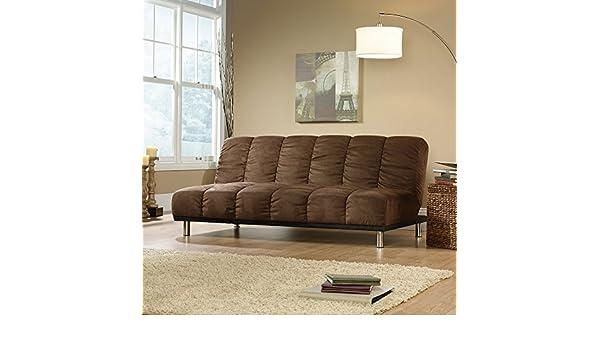 Sauder Studioedge Deshler Convertible Futon Sofa Coffee Duraplush