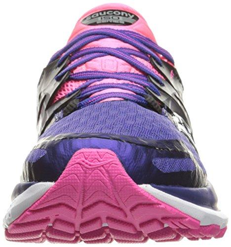 Saucony Triumph Iso 2 W, Entraînement de course femme Multicolore (Purple/Pink/Silver)