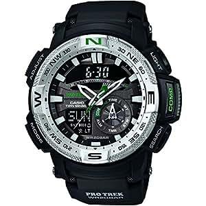 Casio - PRG-280-1E - Pro-Trek - Montre Homme - Quartz Digital - Cadran LCD - Bracelet Résine Noir