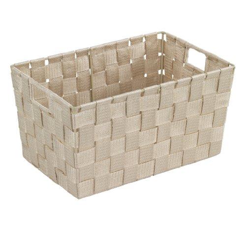 wenko-19882100-aufbewahrungskorb-adria-s-beige-badkorb-polypropylen-30-x-15-x-20-cm