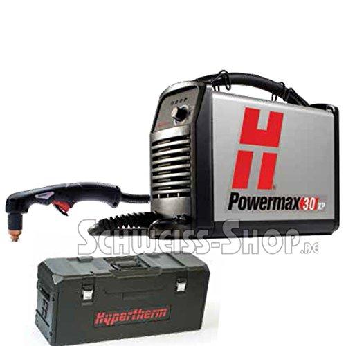 hypertherm 088083Serie powermax30XP Stromversorgung mit 4,5m DuraMax LT Taschenlampe Tragetasche, Handschuhe und Schatten 5Gläser, 120-240V