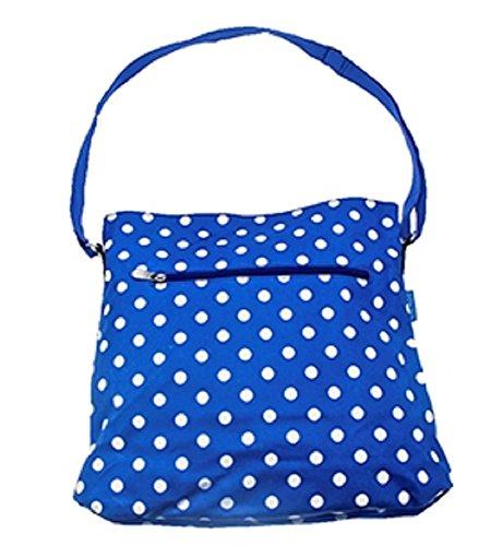 The Luxury Loot Company - Portatrajes de viaje Mujer azul XL