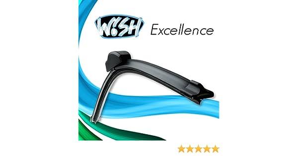 """14/"""" Satz Front 3 x Wish® Excellence 20/"""" Heck Scheibenwischer 20/"""""""