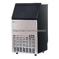 Hanchen - Máquina de hielo de acero inoxidable, 68 kg / 24 h