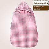 Baby-Schlafsack für Neugeborene, warme Winter-Baumwolle, übergroß, Slaapzak Umschlag für Neugeborene, Säugling, Pucksack und Pucksack