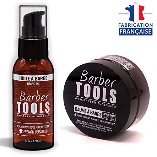 Oil de barba 50ml + Bálsamo para barba - 50ml