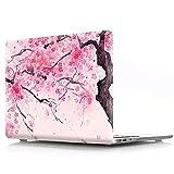 AQYLQ MacBook 12 Hülle Blumenmuster MacBook 12 Zoll Hard Shell Hartschale Tasche Schutzhülle Case für Neue Apple MacBook Retina 12