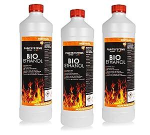 Paintsystems Bio Ethanol 96,6% unser Bio Ethanol ist ein Naturbrennstoff (Bioalkohol) mit einem Ethanolgehalt von 96,6 Vol.% und ist außen und innen vielseitig einsetzbar. Das Bio Ethanol ist ideal für Ethanolkamine, Alkoholbrenner, Terrassenfeuer, R...
