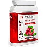 RASPBERRY KETONES 1000mg Vegetarian & Vegan Friendly Fat Burning Capsules | Max Strength Fat Burners for Men or Women | Boost Metabolism, Suppress Appetite and Increase Energy for Weight Loss (30 Capsules)