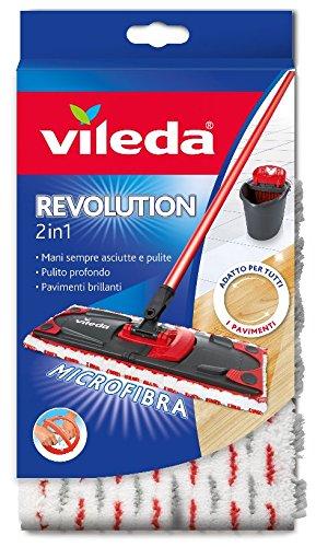 Vileda Revolution 2 in 1 Panno Ricambio in Microfibra