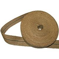 Pandoras Upholstery Cincha de yute (10 m, 5,44 kg, 5 cm de ancho, color marrón