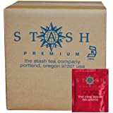 Stash Tea Decaf Chai Spice Black Tea, 100 Count Box Of Tea Bags In Foil