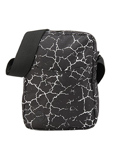 Mi-Pac Flight Bag Bolso Bandolera, 21 cm, 1.7 Litros, Crack Blk/Silv