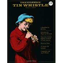 Bill Ochs The Clarke Tin Whistle Pwh Book/Cd (Penny & Tin Whistle)