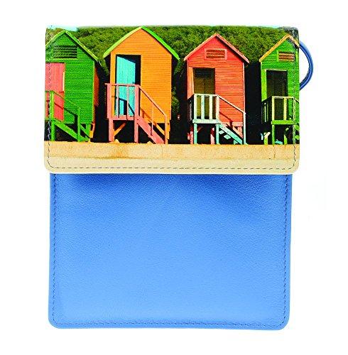 Golunski 7356 - Portatrajes de viaje Mujer multicolor azul/multicolor mediano