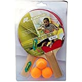 Krazy Vortex Table Tennis Set For Kids & Youth (2 Rackets & 3 Balls)