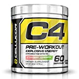 Cellucor C4 Explosive Preworkout Supplement, Strawberry Margarita, 60 Servings at amazon