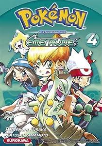 """Afficher """"Pokémon, la grande aventure - Rouge feu et Vert feuille n° 4<br /> Tome 4 - Emeraude"""""""