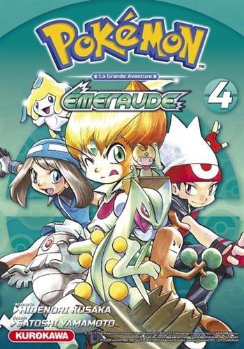 Pokémon - Rouge Feu et Vert Feuille / Émeraude - tome 04 (4) par Hidenori KUSAKA